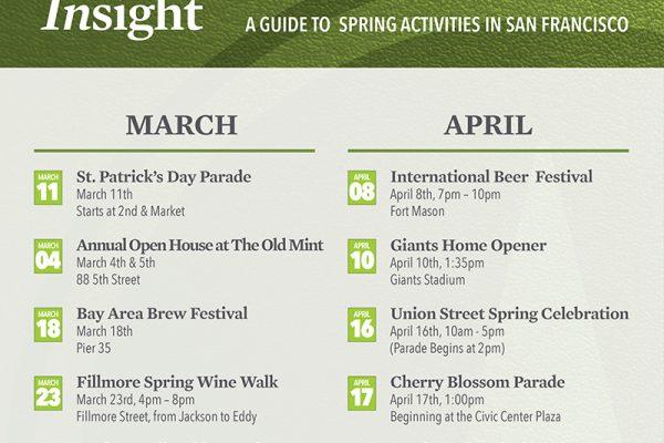 San Francisco Spring Activities!